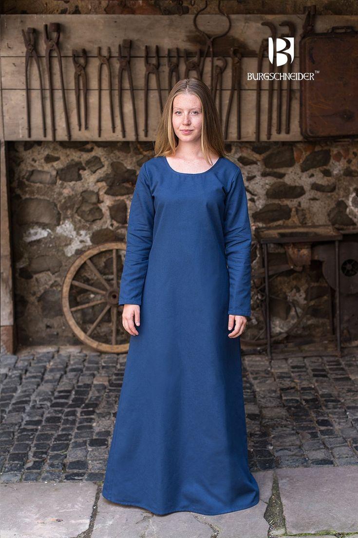 Shift Dress Freya - Blue order online with larp-fashion.co.uk