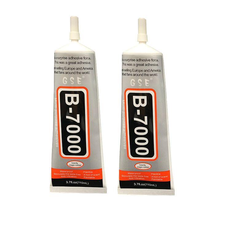 Office Supplies Wholesale 1pcs B7000 Glue Stick Drill Glue Diy Jewelry Diamond Paste Glue 110ml Pinhole Essential Tool