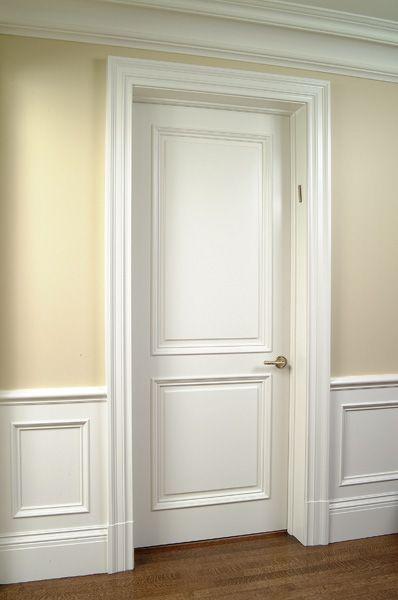 Les 25 meilleures id es de la cat gorie moulure porte sur for Decoration sur porte interieur