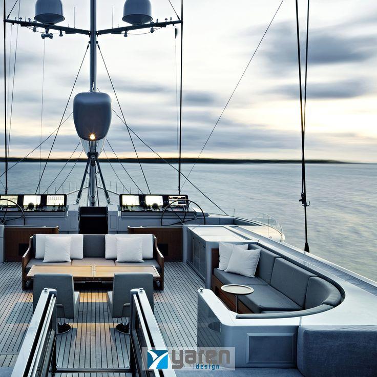 Tasarladığımız yatlar ile denizin ahengine bayılacaksınız ! Keyifli bir hafta sonu için Yaren Design !  #yarendesign