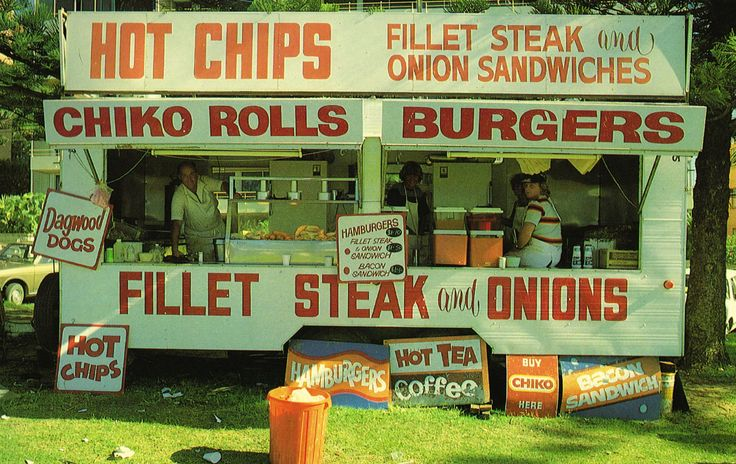 Chiko Rolls, Dagwood Dogs & Hot Chips – The Ol' Food Van   The Island Continent