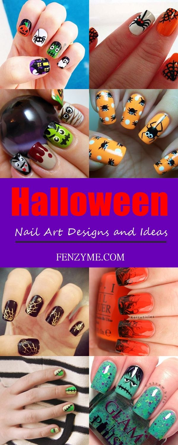 Halloween Nail Art Designs and Ideas