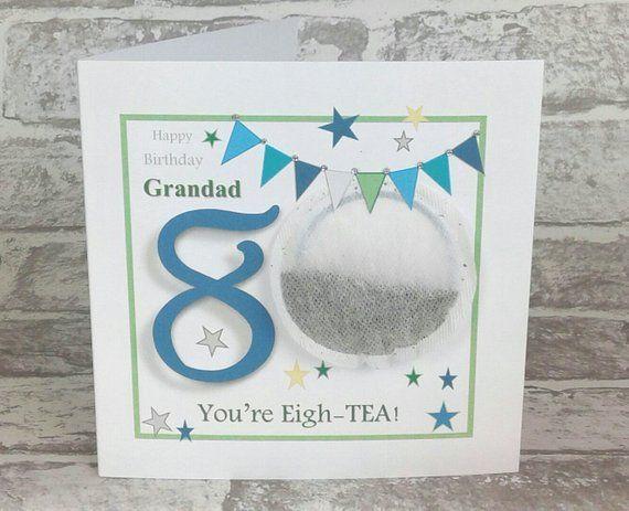 Personalised 80th Birthday Card Grandad 80th Birthday Card Etsy 80th Birthday Cards 90th Birthday Cards Dad Birthday Card