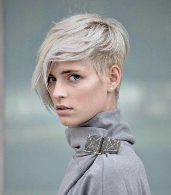 20 Heißesten Grauen Frisuren Für Die Coolsten Frauen Pixies