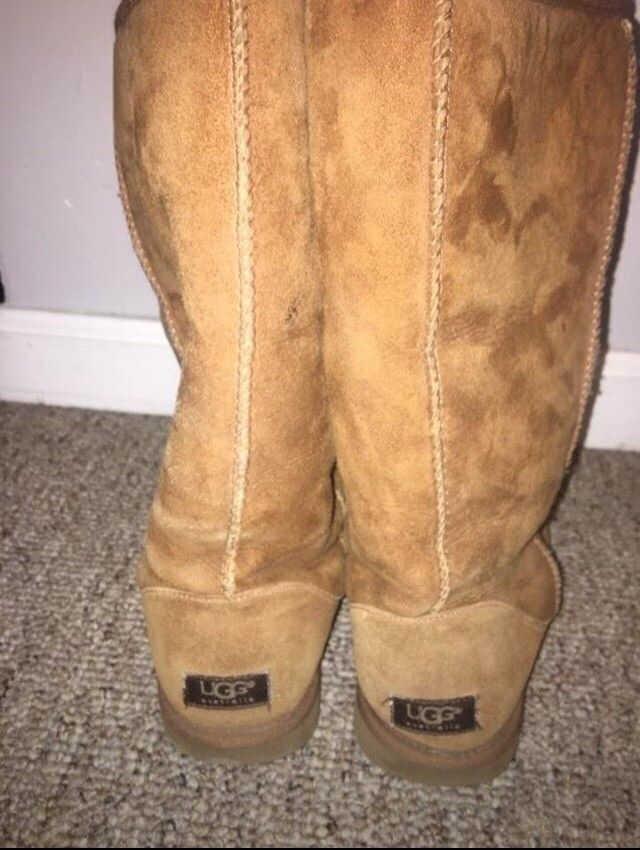 a9db6b9ae12 Tall Light Brown Uggs Size 9 #fashion #clothing #shoes #accessories ...