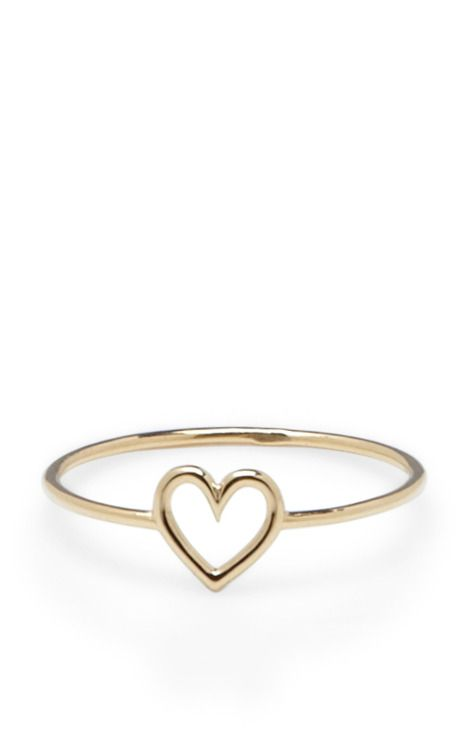 Shop Love Ring by Aurélie Bidermann Now Available on Moda Operandi