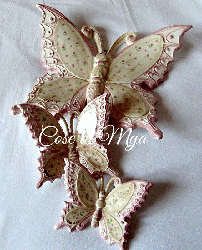 Coordinato Farfalle Country, by COSE DI MYA, 50,00 € su misshobby.com