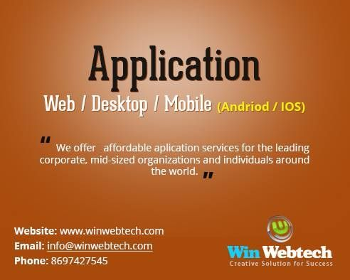 Get best quality web and mobile application development services at best price.