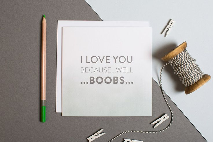Funny Anniversary Card For Wife - Quirky Anniversary Card For Girlfriend - Alternative Greetings Card