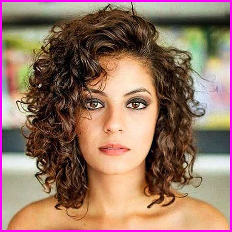 For Curly Hair Round Face 2019 Haircuts For Curly Hair Wavy