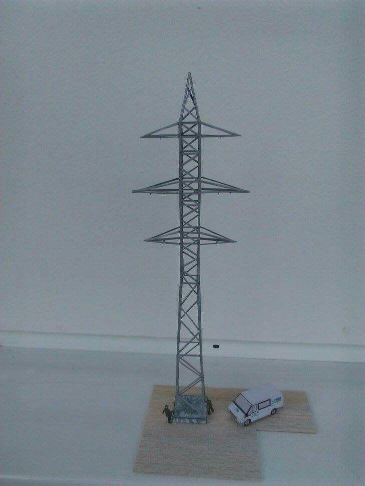 Electricity pylons 110 kV