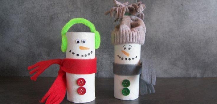 Voici un bricolage bonhomme de neige qui est vraiment mignon !! Vous allez pouvoir recycler vos rouleaux de papier toilette et vos vieilles chaussettes dépareillées pour faire des bonhommes de neige avec les enfants. Facile à réaliser, faire un bonhomme de neige avec les enfants nécessite peut de matériel.Intérêt : ...: