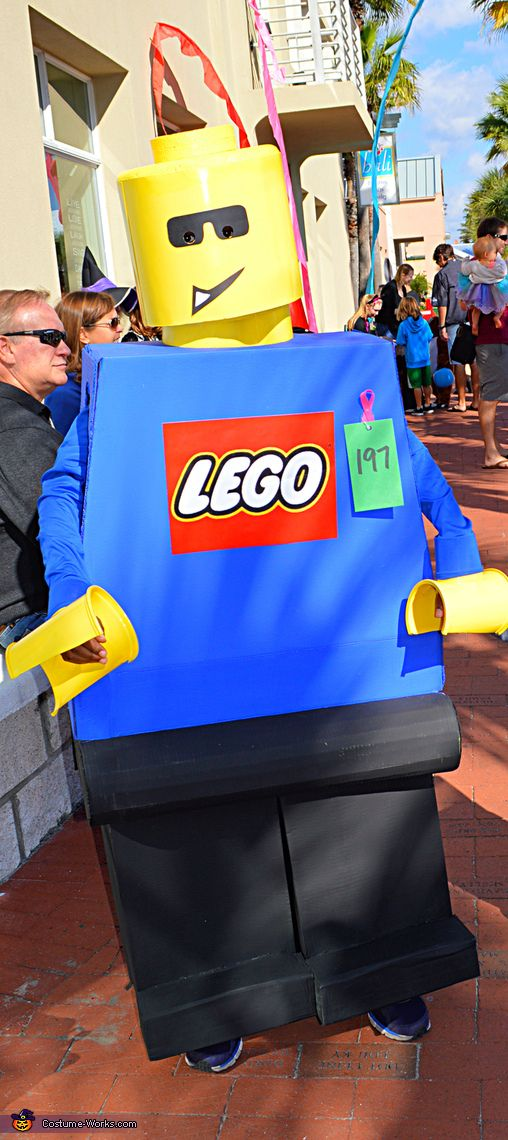 Jet the not-so-mini Lego Minifigure - Halloween Costume Contest via @costume_works