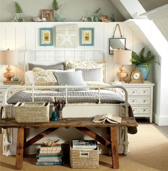 Nautical Style Teen And Bedrooms: 203 Best Images About Coastal Bedrooms On Pinterest