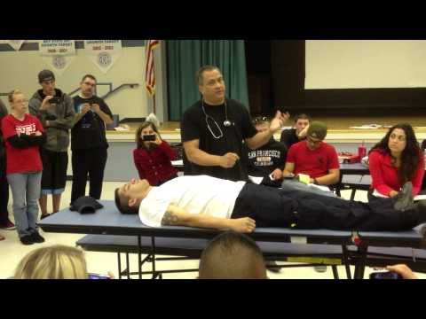EMT-Basic Patient Assessment - Trauma Head to Toe - YouTube