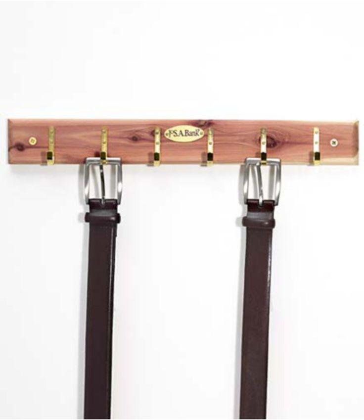 Jos A Banks Accessory Sale: Cedar Belt Rack $3.49 Belt Spinner $3.49 2-Pack Standard Cedar Hangers $3.49 Ceda... #LavaHot http://www.lavahotdeals.com/us/cheap/jos-banks-accessory-sale-cedar-belt-rack-3/131604