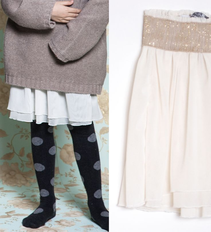TULLE SKIRT #romantic #musthave #latestsize #kids #fw1415 #collection #CucuLab