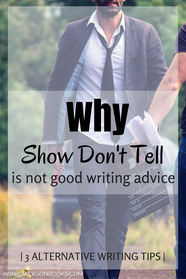show don tell essay Show, don't tellmost writers have heard this maxim at some point, whether from a teacher, an editor or an agent but what does this writing advice mean, in practical terms.