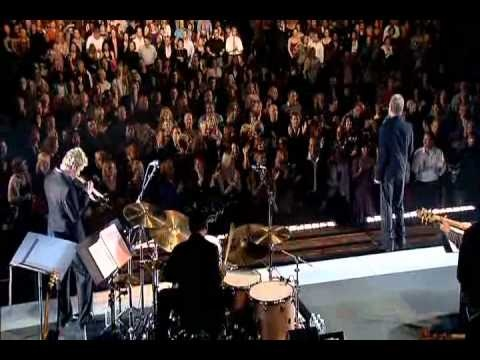 """""""Message in a Bottle"""" - Sting with Chris Botti on trumpet - Live"""