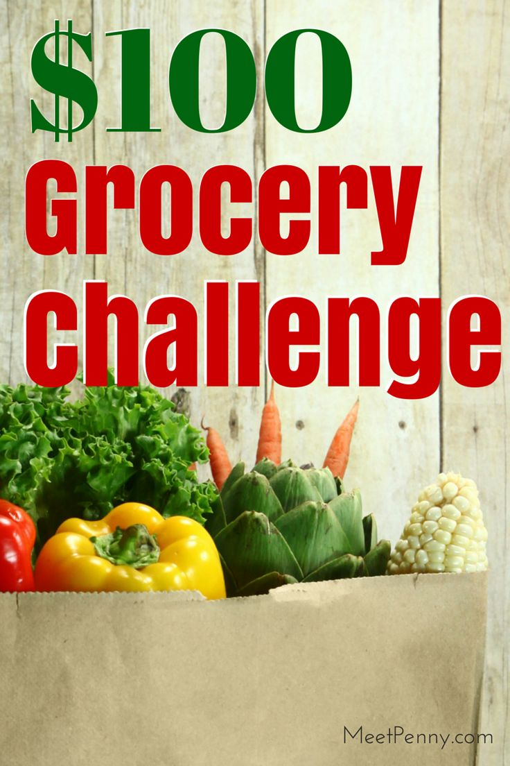 NEW at Meet Penny: $100 Week Grocery Challenge