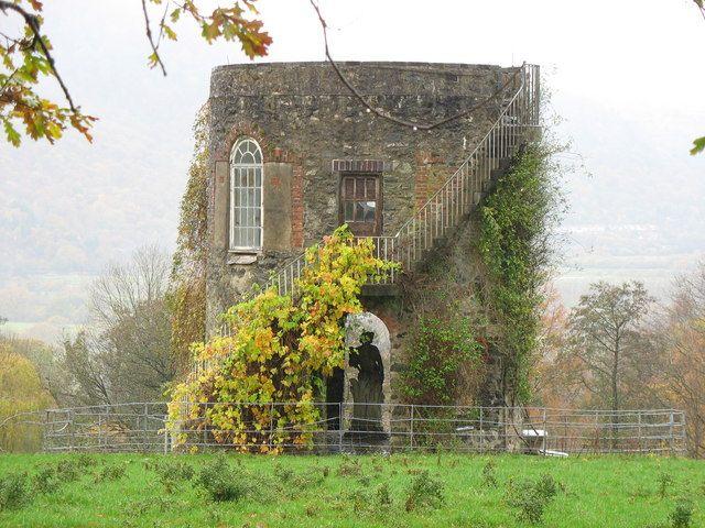 Maenan Hall Folly, Wales