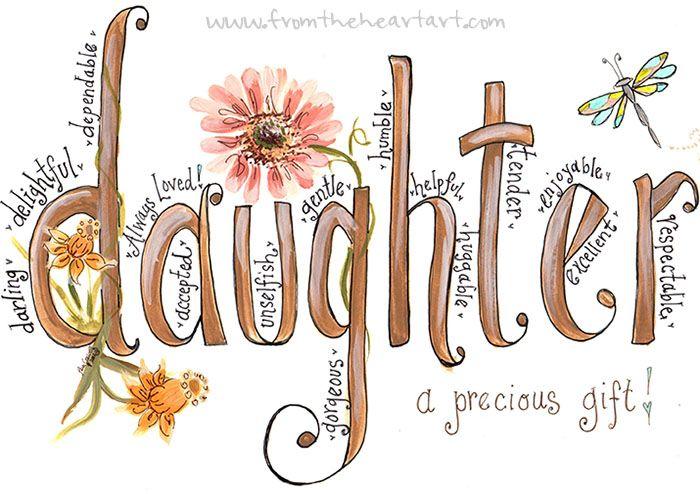 Daughter Print
