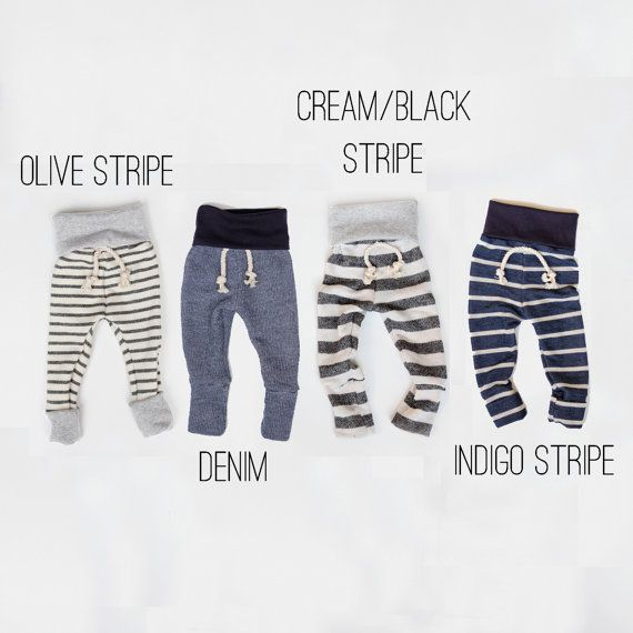 skinny sweats  baby/toddler sweatpants by childHOODS on Etsy, $30.00 (WE HAVE TO HAVE THESE FOR BABY J)