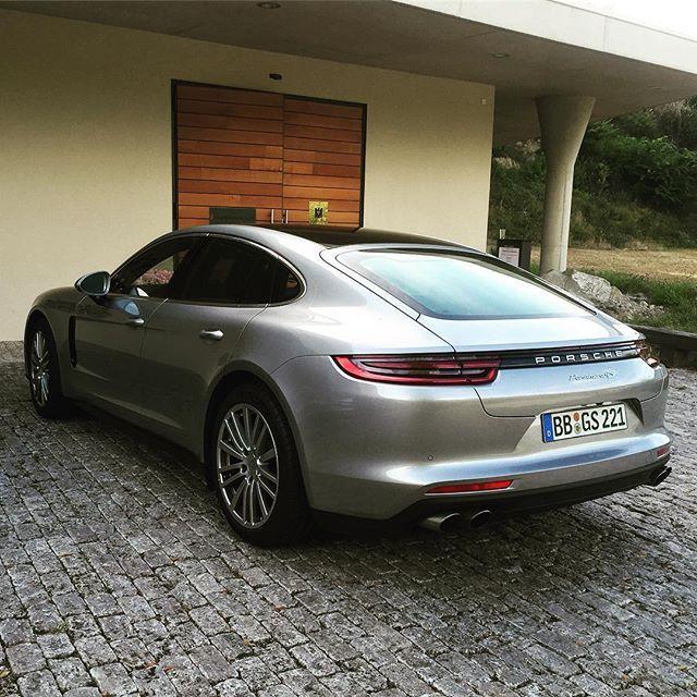 The new Panamera is mega in the flesh. #lovecars #dullroadtrip #porsche #panamera #panameras #germany #roadtrip #freiburg #speed #F4F #engine