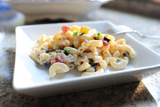 The Best Macaroni Salad Ever via The Pioneer Woman