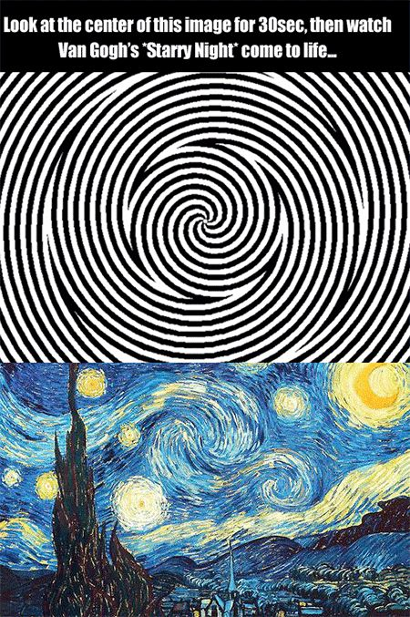 Mind-Bending Starry Night Illusion Brings the Painting to Life - TechEBlog