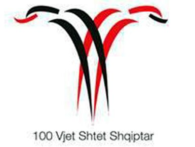 100th Anniversary of Albania's Independence logo