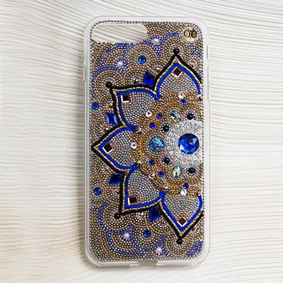 Half Mandala Bling iPhone 6+ Case by O'Chic USA | 2017 GBK's Luxury Celebrity Gift Lounge Honoring Golden Globes | Pinterest