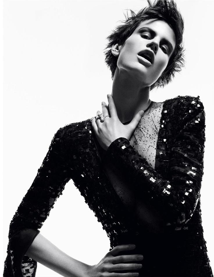 Portrait - Fashion -  Black and White Photography