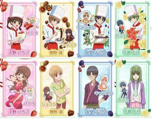 Yumeiro Patissiere Manga  Read Yumeiro Patissiere Online