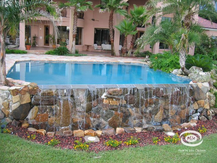 48 best images about semi inground pools on pinterest on - Small above ground swimming pools ...