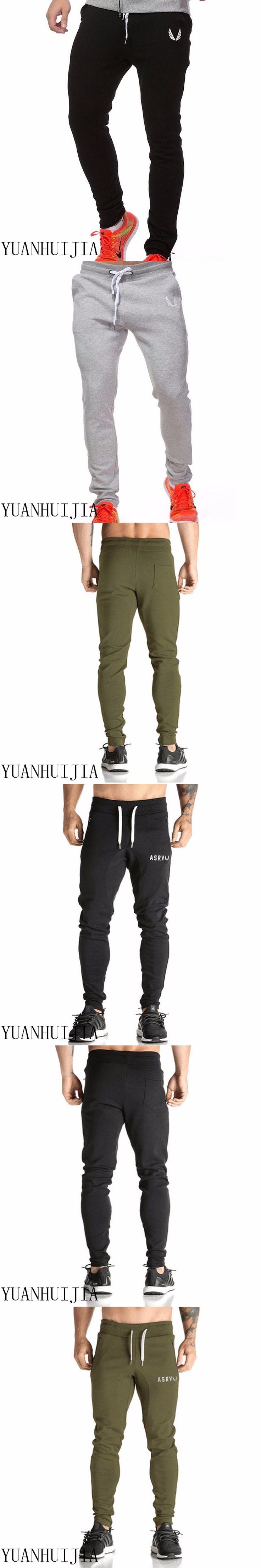 2017 New Fashion For Men KEYS & GOLDS Pants, Male Fitness Workout Pants  Trousers Sweatpants Jogger Pants M-XXL