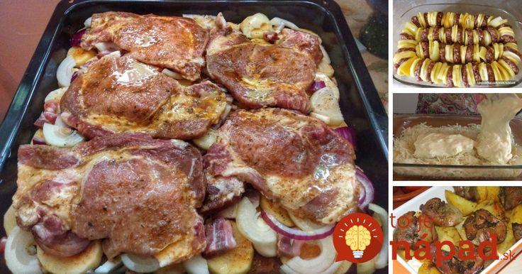 Máte pocit, že vám pri príprave rodinných obedov dochádza inšpirácia? Prinášame vám 7 skvelých tipov, na rýchle a chutné obedy z jedného pekáča. Dobrú chuť!