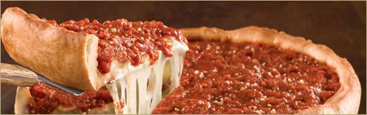 Giordiano's Chicago deep dish pizza delivered? Yes please! Why can't my birthday be closer?