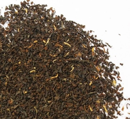 Fresa Salvaje. Té negro con fresas maduras y hojas de mora
