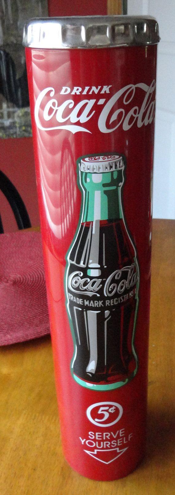 Vlintage Coca Cola Cup Dispenser