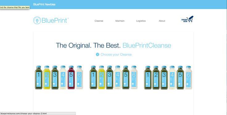 Screen shot paleta juice LiquidLab final project research board - best of blueprint cleanse foundation