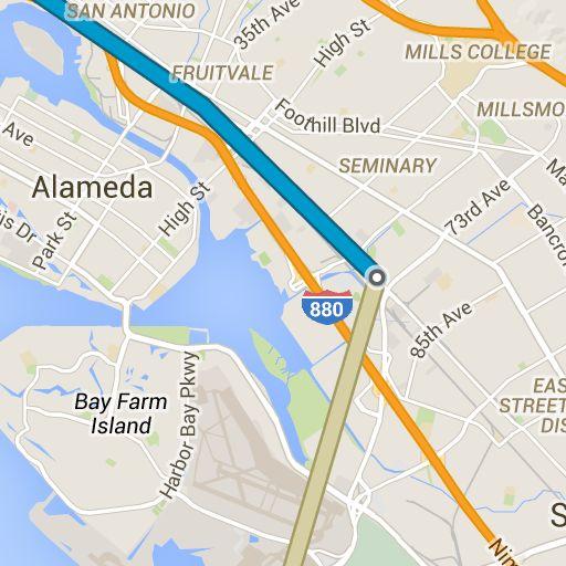 Aéroport international d'Oakland à 1611 Washington St #1 - GoogleMaps