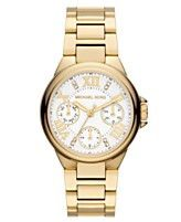 Michael Kors Watch Chronograph Gold-Tone Stainless Steel Bracelet