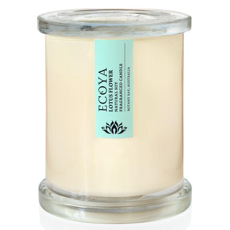 Ecoya - Metro Lotus Flower Jar Candle | Peter's of Kensington