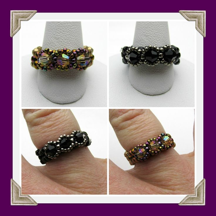 Kelly from Off the Beaded Path, in Forest City, North Carolina shows you how to make a ring that goes along with the past 2 weeks projects. We have materials...