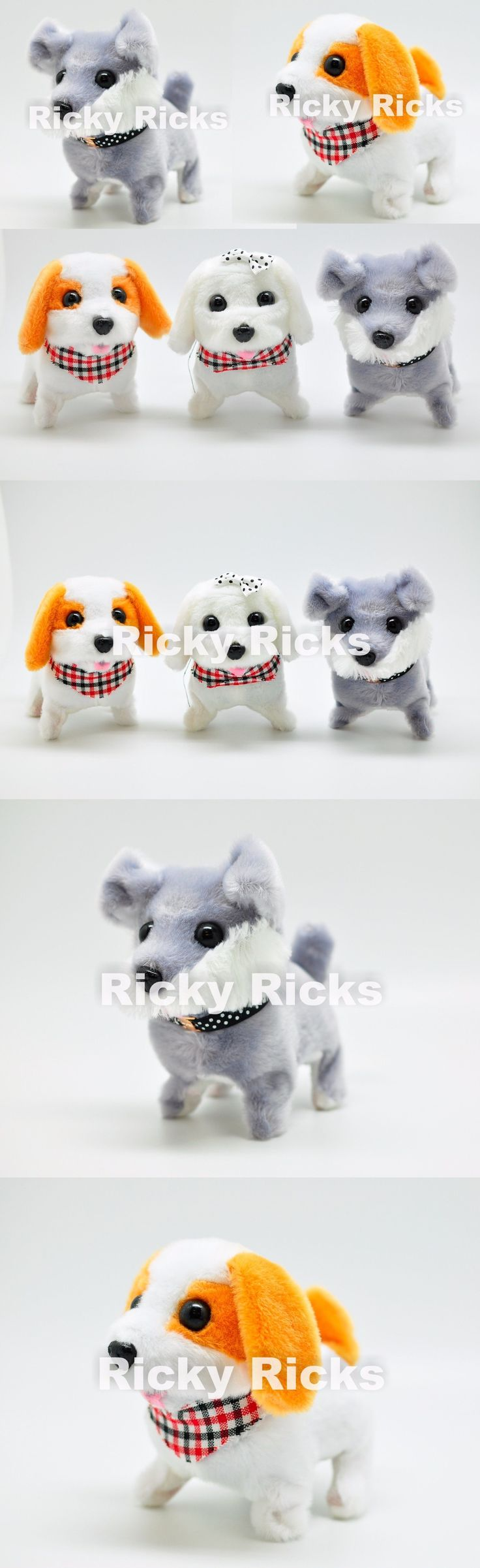 Animals 145942: 60 Walking Dogs Toy Barking Husky Beagle Puppies Furry Plush Wholesale -> BUY IT NOW ONLY: $149.99 on eBay!