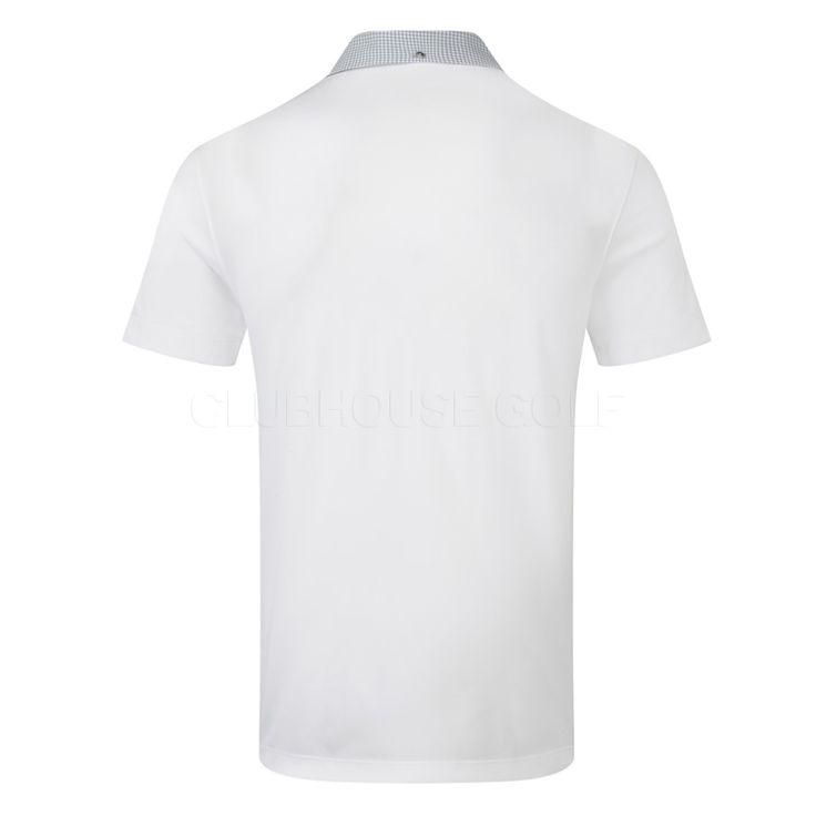 Puma LUX Solid Golf Polo Shirt White 568456-02