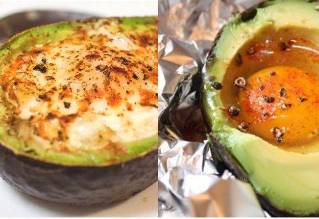 Avocado Eggs - Real Recipes from Mums