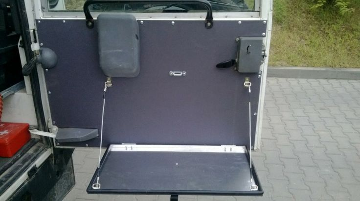 Land Rover Defender Chequer Plate Door Card With Folding Shelf Off Sklep Eu 564 Land Rover Defender Tapicerka Drzwi Bagaznika Html Acampamento Carros
