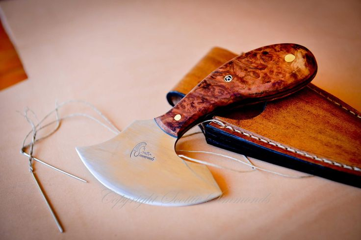 Leather tools made to suit you  www.gidgeeknives.com.au